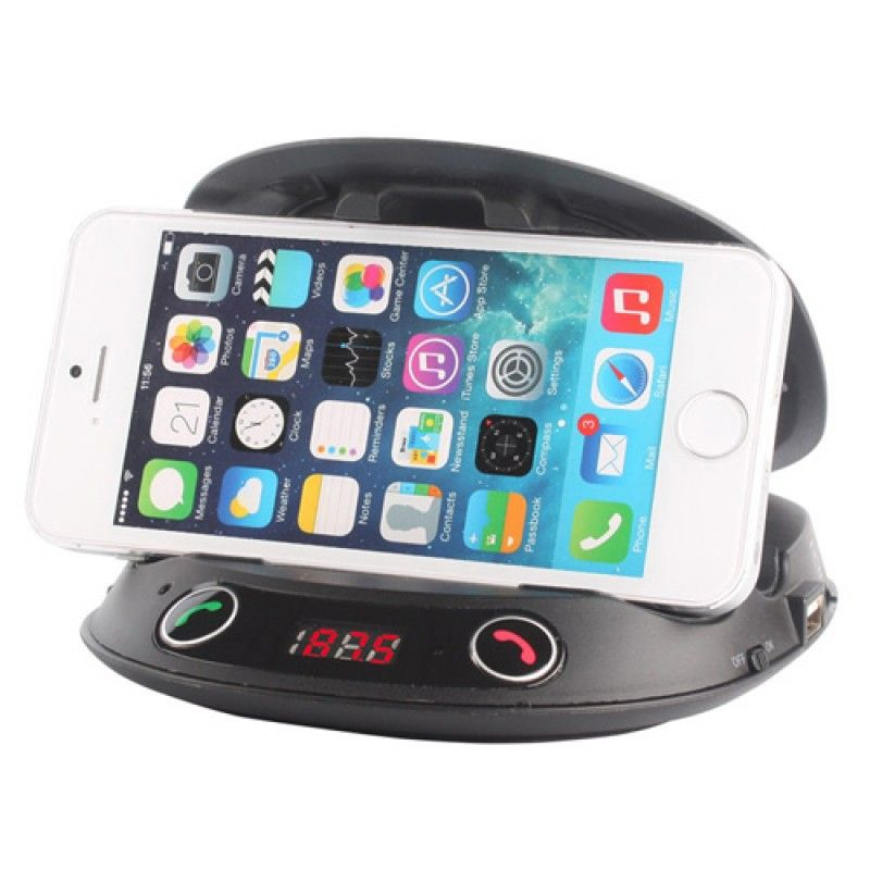 Wholesale Multifunction Shell Car Phone Holder With FM