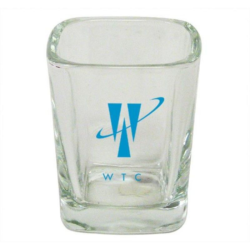 Wholesale Square Shot Glass-[FL-28003]