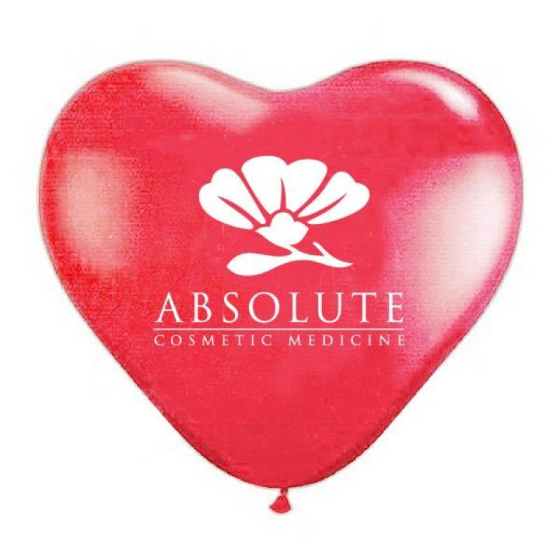 "Wholesale 11"" Jewel Fashion Colored Heart Shaped Balloons-[PB-27013]"