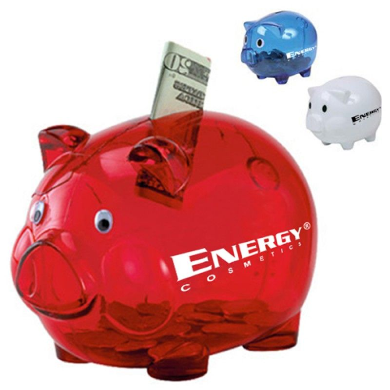 Wholesale Translucent Durable Piggy Bank