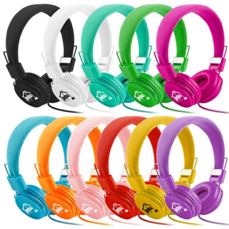 Wholesale Foldable Stereo Headset With Mic