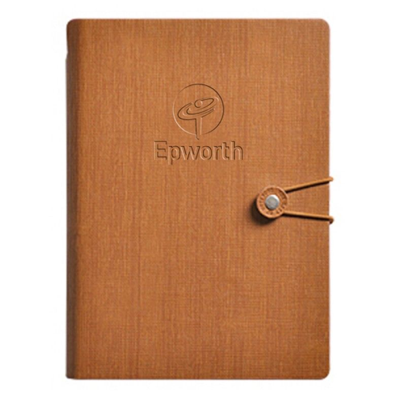 Wholesale Creative Rubber Vintage Notebook