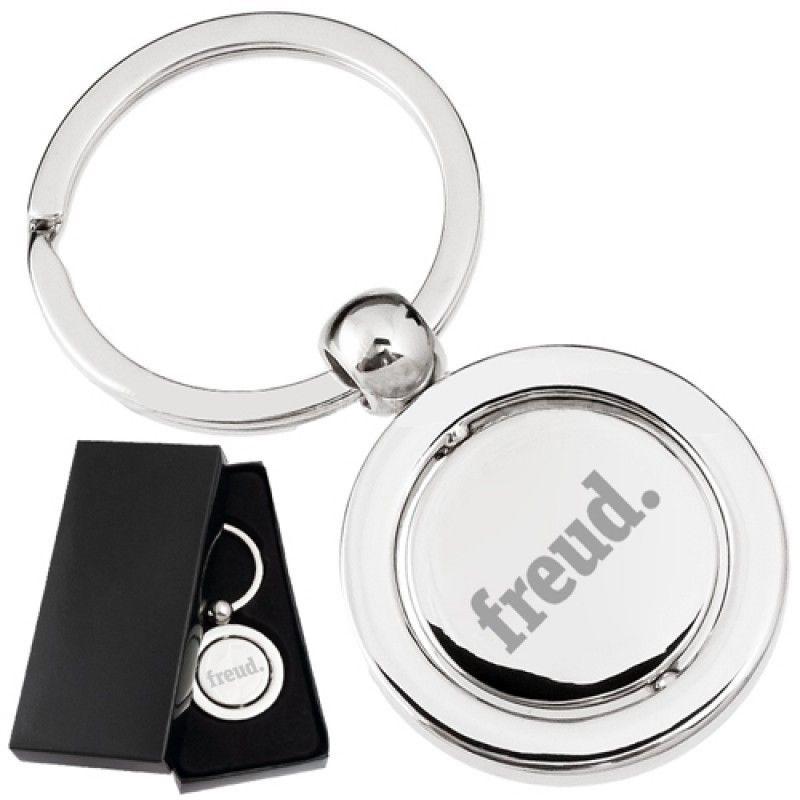 Wholesale Custom Spinning Executive Metal Keychain