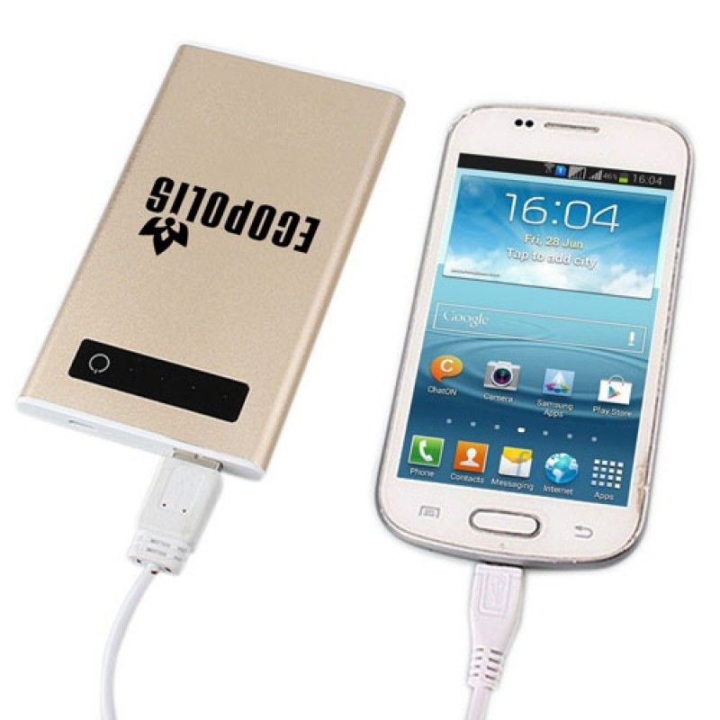 Wholesale 10000mAh Touch Screen External Power Bank