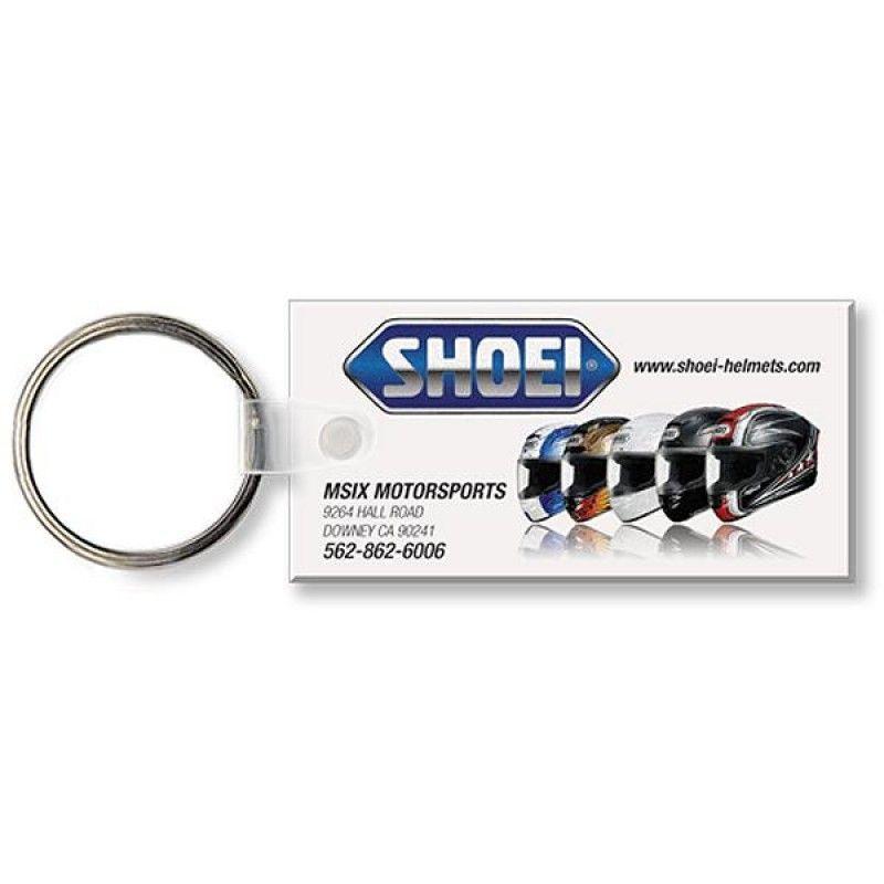 Wholesale Full Color Large Rectangle Key Tag-[QK-25008]