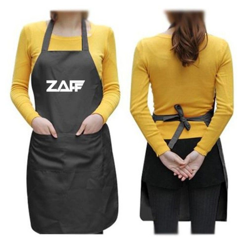Wholesale Black Apron With Two Pockets