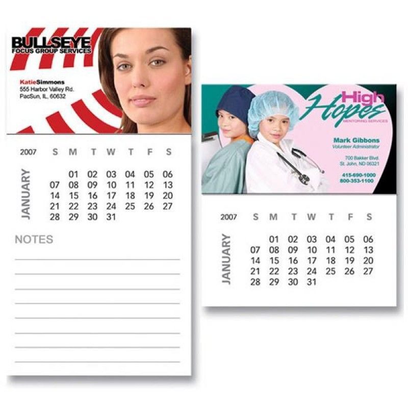 Wholesale Magnet with 12 Sheet Calendar-[BG-27122]