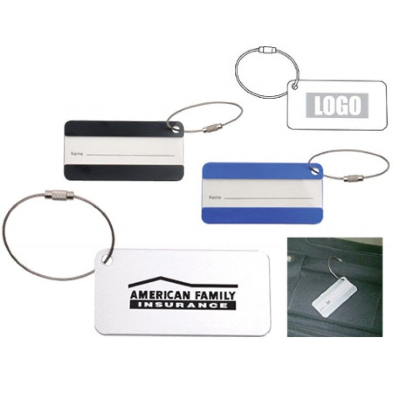 Wholesale Aluminium Luggage Tag
