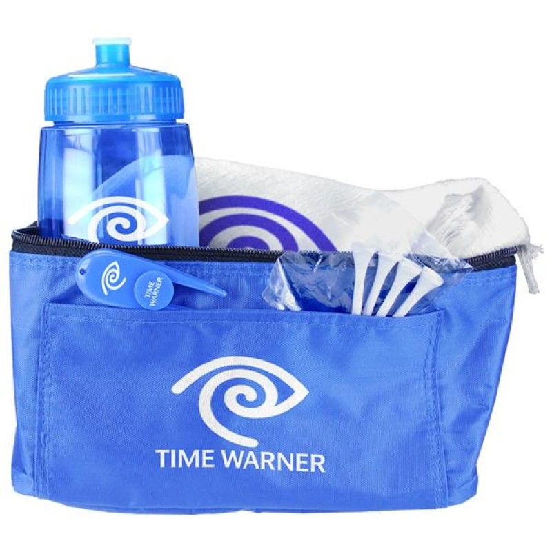 Wholesale Cooler Bag & Bottle Golf Gift Set-[CP-27129]