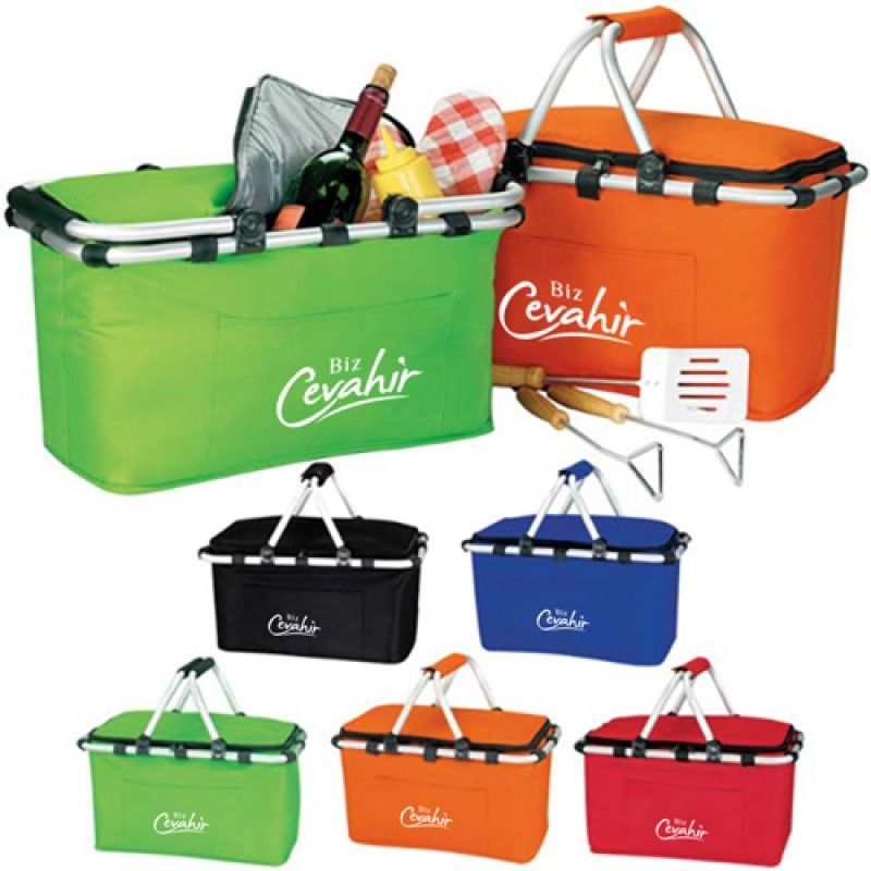 Wholesale Foldable Insulated Picnic Basket