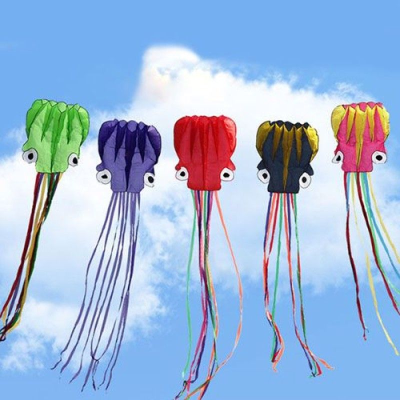Wholesale Octopus Soft Kite with Handle line