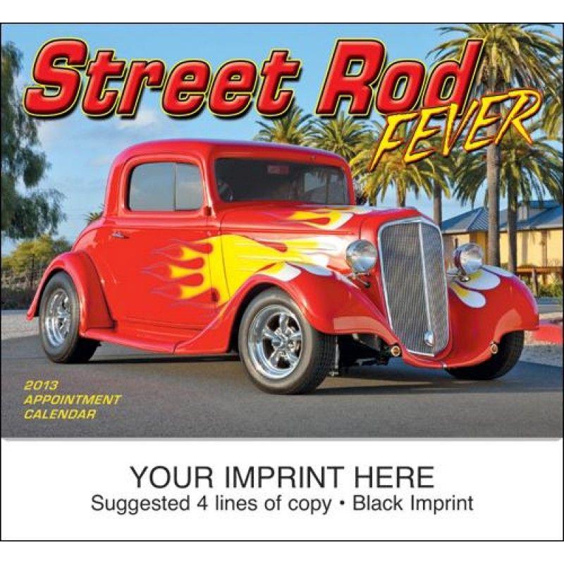 Wholesale Street Rod Fever Calendar-[HL-27025]