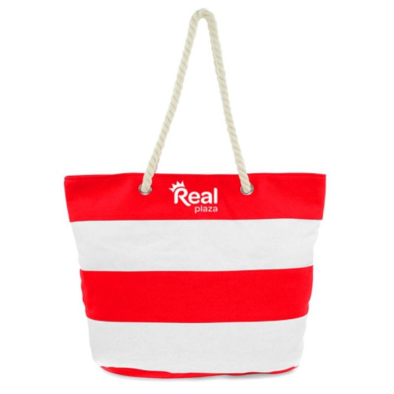 Wholesale Ladies Leaves Canvas Beach Bags