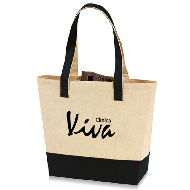 Wholesale Canvas Meeting Trim Tote