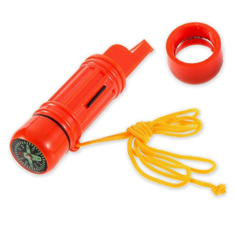 Wholesale 5 in 1 Multi Function Compass Whistle