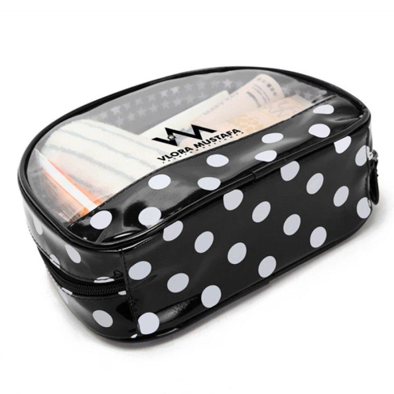 Wholesale Transparent Waterproof Women Cosmetics Bag