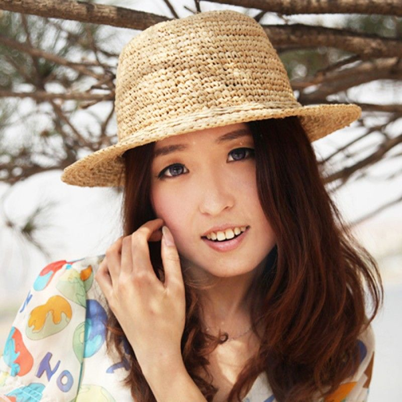 Wholesale Fine Straw Cloche Hat