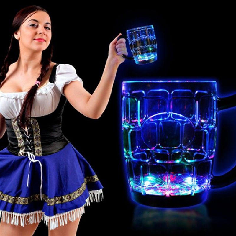 Wholesale Light-Up Water Inductive Beer Mug