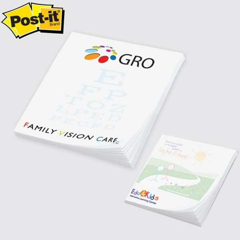 Wholesale Post-it(R) Custom Printed Notes Full Color Program