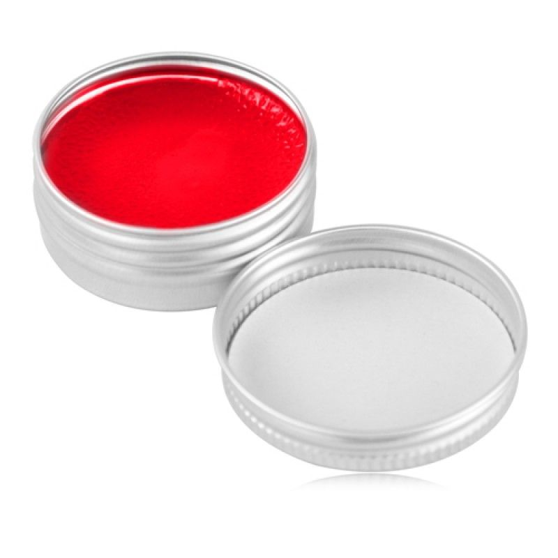 Wholesale Lip Balm In Round Silver Tin