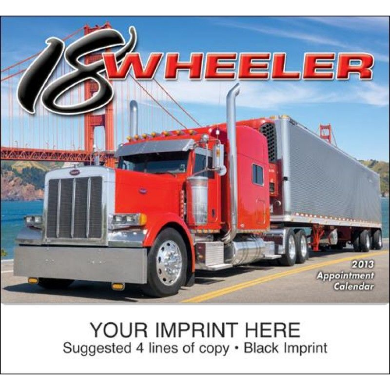 Wholesale 18-Wheeler Calendar-[HL-27024]