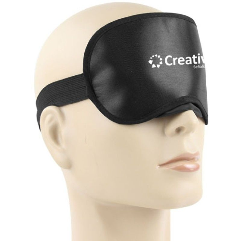 Wholesale Shiny Sleeping Shade Mask With Velcro