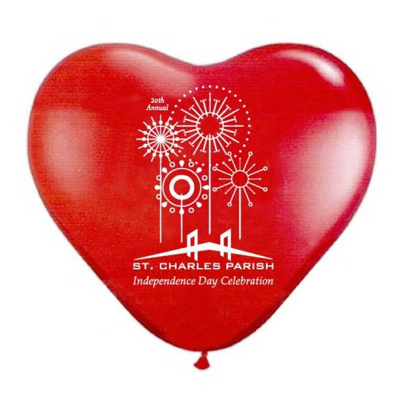 "Wholesale 11"" Standard Heart Shaped Balloons-[PB-27012]"