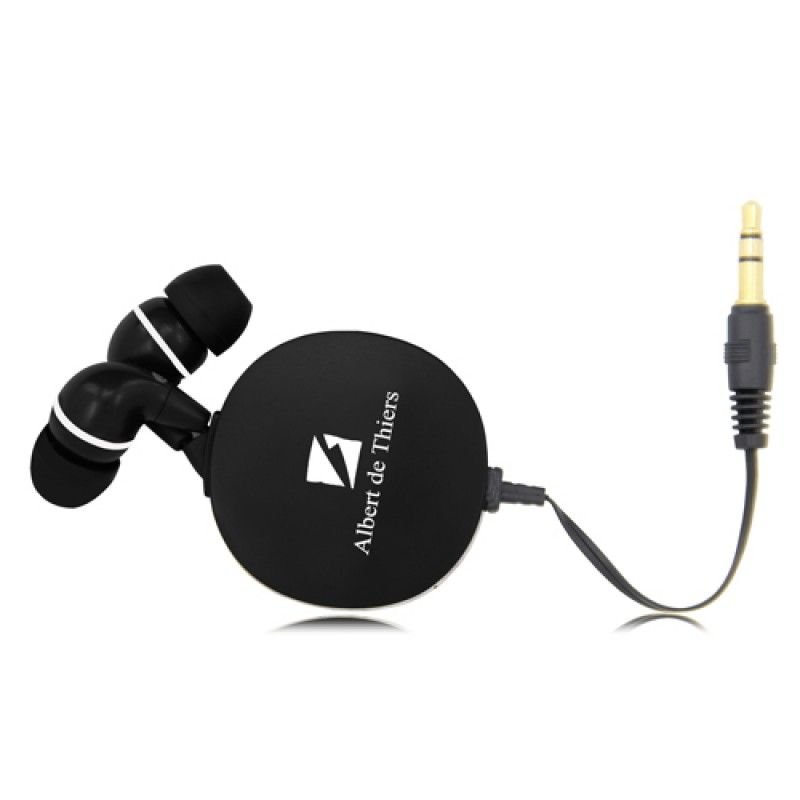 Wholesale Hi-Fi Retractable Earphones