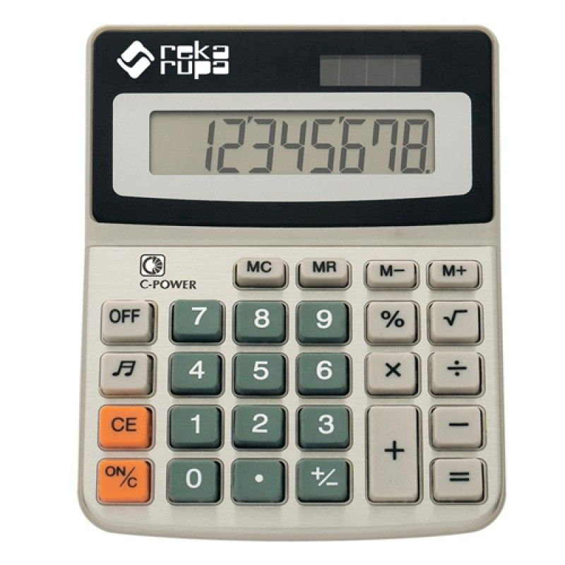 Wholesale Desktop 8-Digit Solar Powered Calculator