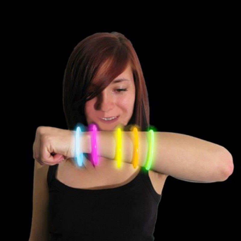 Wholesale 8 Inch Glow Stick Bracelet