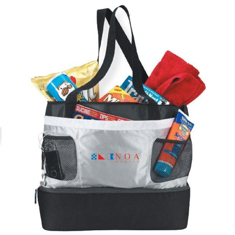 Wholesale Double Decker Cooler Tote-[BG-28094]