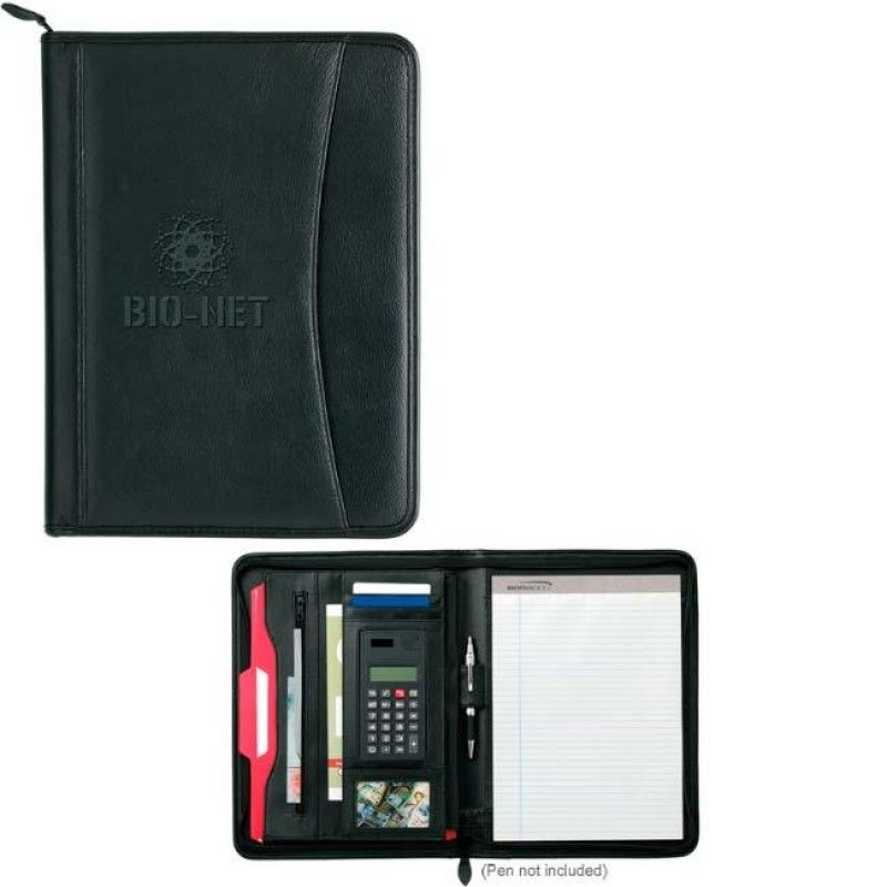Wholesale Allura Zip Calculator Folder-[NW-91870]