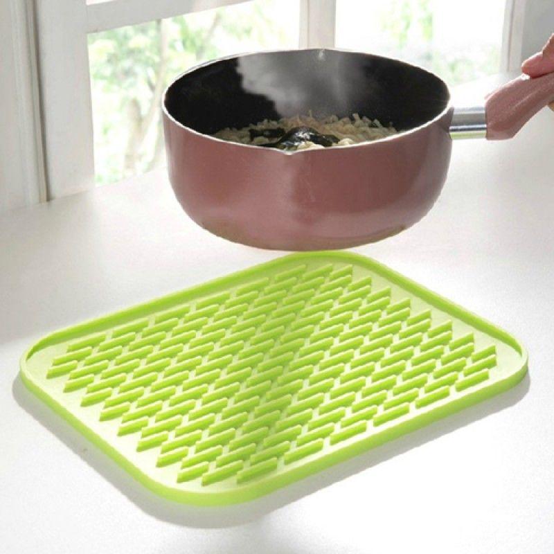Wholesale Rectangle Silicone Insulation Coasters