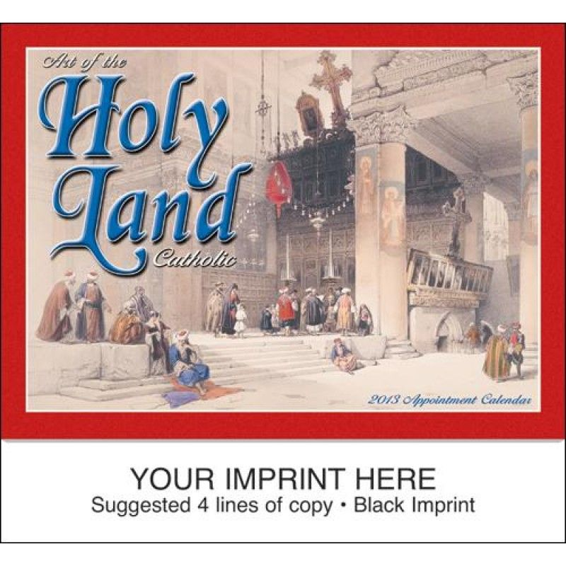 Wholesale Art of the Holy Land - Catholic Calendar-[HL-27017]