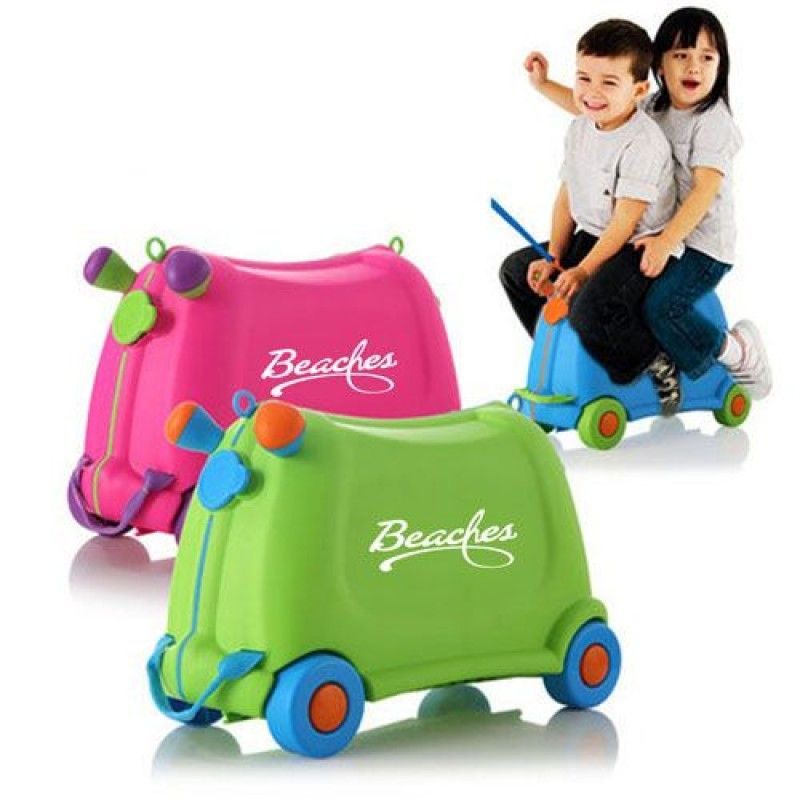 Wholesale Baby Toy Car Ride Sit Suitcase