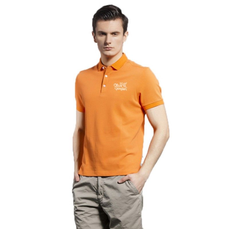 Wholesale Breathable European Mens Polo Shirt