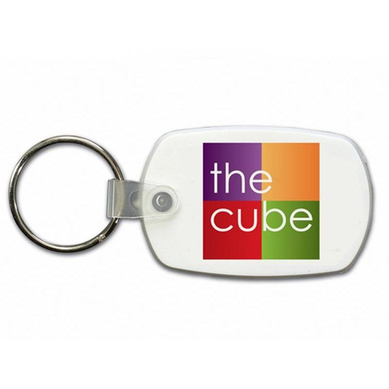 Wholesale Full Color Oval Key Tag-[QK-25001]