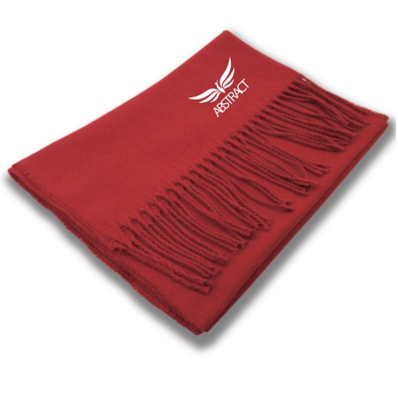Wholesale Chinese Red Scarf