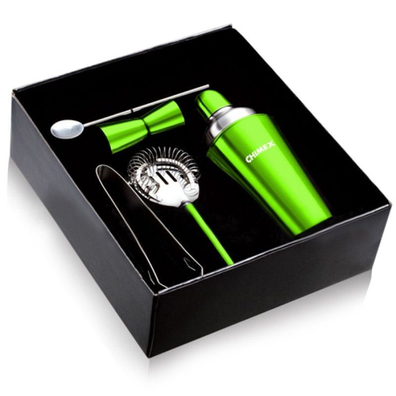 Wholesale 5 Stainless Steel Cocktail Shaker Set