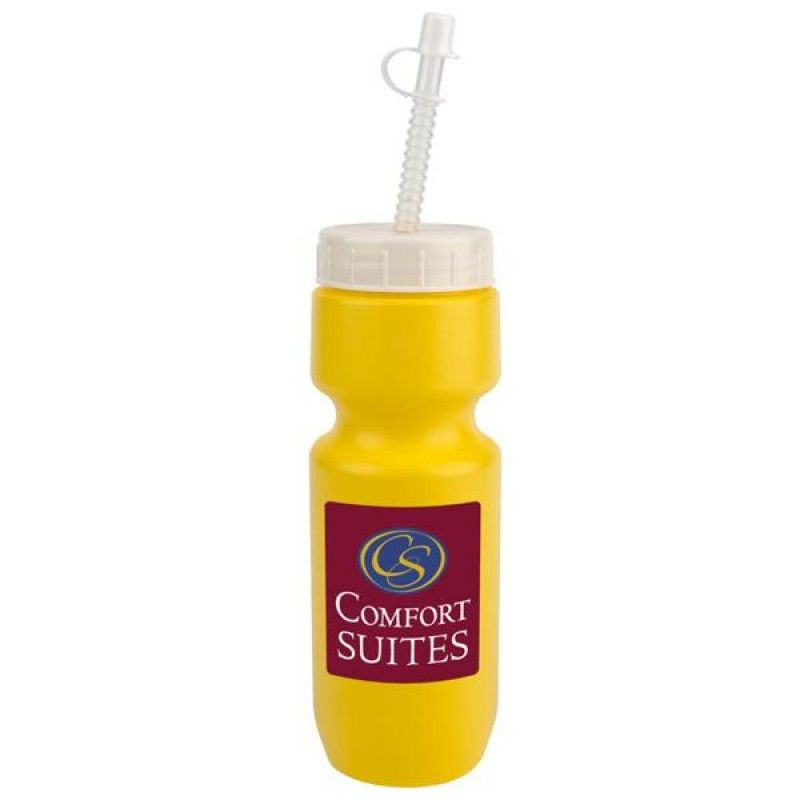 Wholesale 22 oz. Bike Bottle with Straw/Tip Lid-[CP-27001]