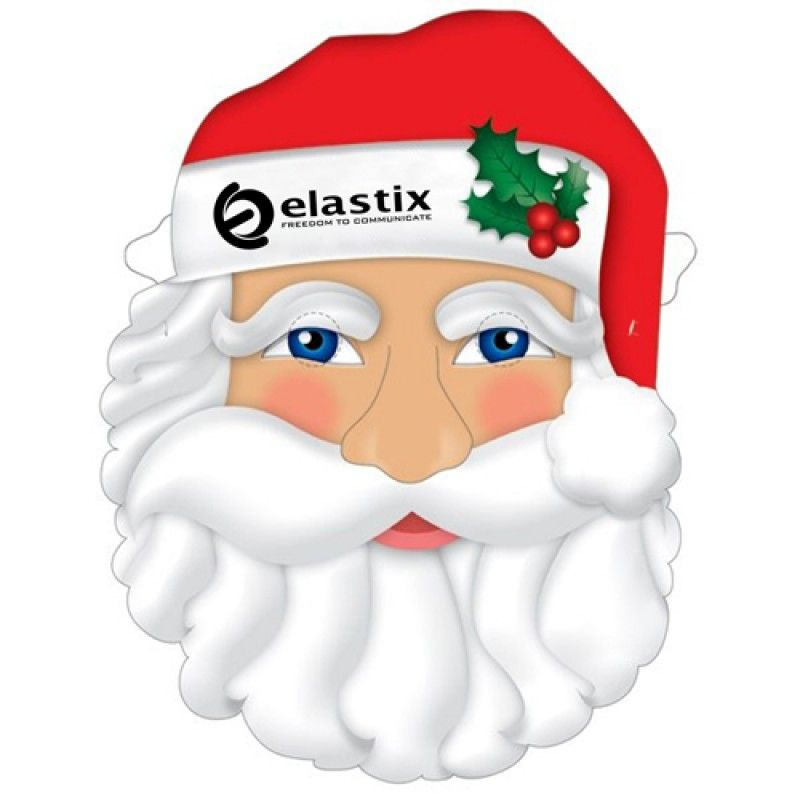 Wholesale Custom Santa Mask With Elastic Band
