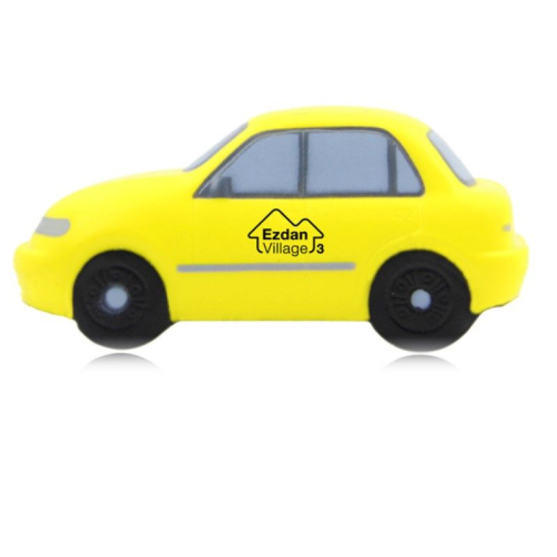 Wholesale Sedan Car Shaped Stress Reliever