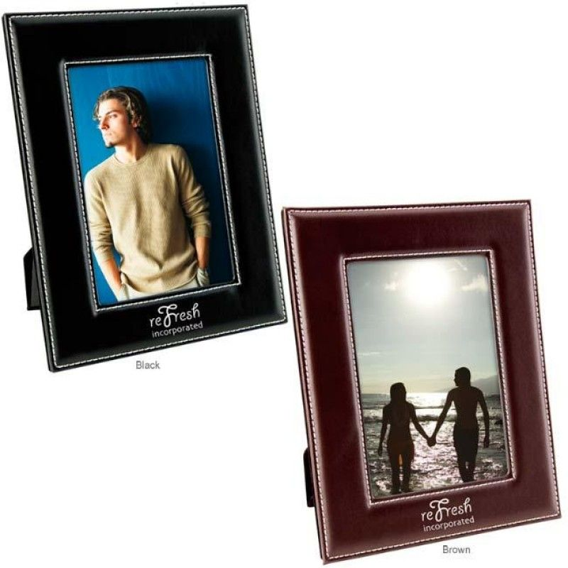 "Wholesale 4"" x 6"" Leatherette Frame-[NW-92011]"