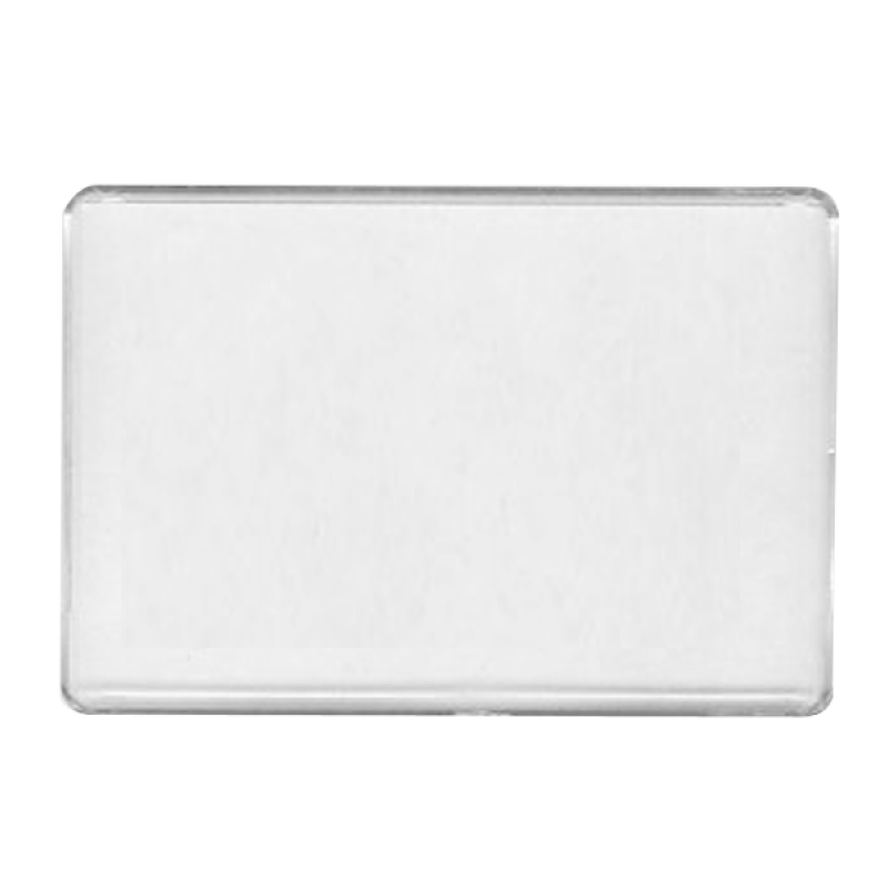 Wholesale BLANK - Snap-In Rectangle Flat Magnet-[BW-27078]