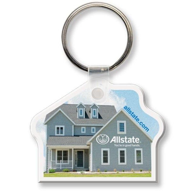Wholesale Full Color House Key Tag-[QK-25005]