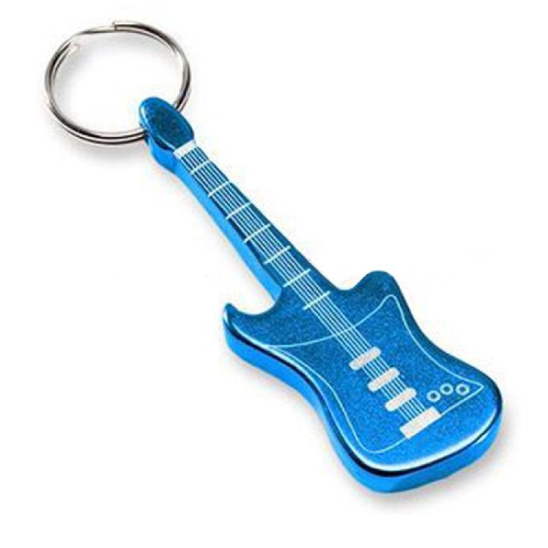 Wholesale Electric Guitar Shape Opener Keychain