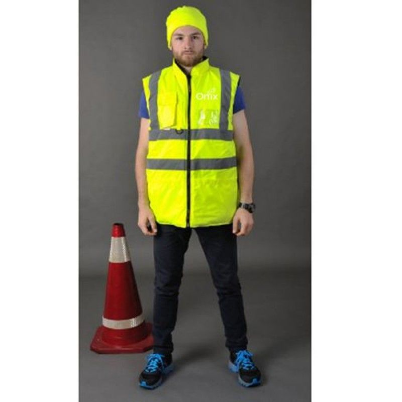 Wholesale Cotton Padded Winter Outdoor Safety Vest
