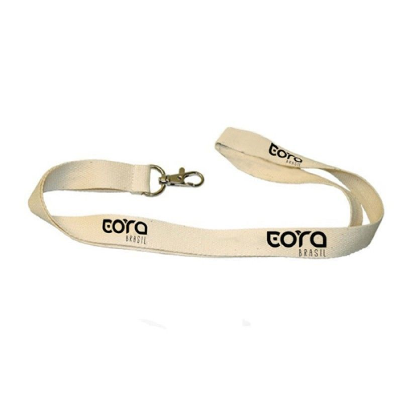 Wholesale Eco Friendly Cotton Lanyard With Snap Hook