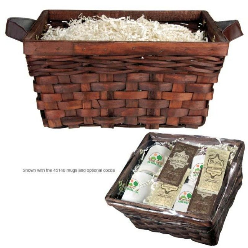 Wholesale 4 Mug Basket - Custom Packaging-[NW-91372]