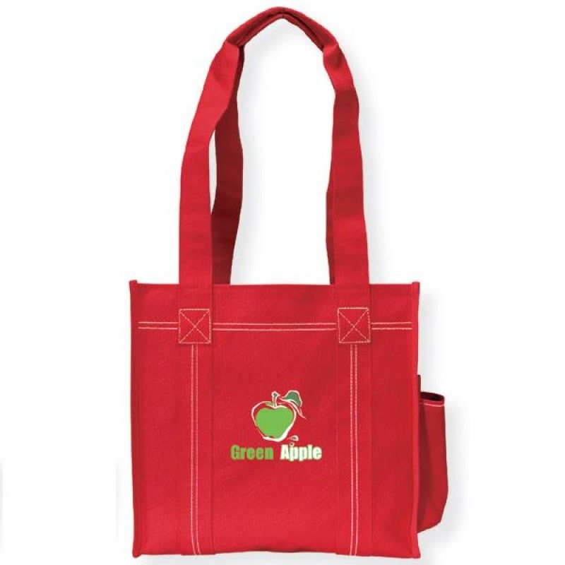 Wholesale Double Stitch Tote -[BG-28053]